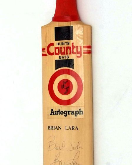 A wide array of sporting memorabilia goes under the hammer today. Photo: Keys