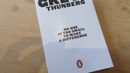 No One is Too Small to Make a Difference by Greta Thunberg was publised in May this year. Picture: R