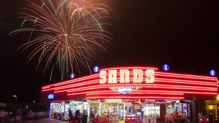 Hemsby fireworks - this is the sort of thing we want to see more of in Hemsby