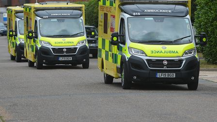 The East of England Ambulance Service spent almost £10m on private ambulances last year. Photo: EEAS