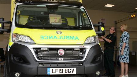 New ambulances have been rolled out in Norfolk and Waveney. Paul Henry, Deputy Director of Operation