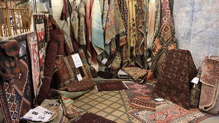 The Rug Studio can be found at Holt Antiques & Interiors Centre, Candlestick Lane, Holt. Picture: Th