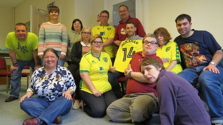 Norwich City legend Wes Hoolahan has raised thousands of pounds to help adults with learning disabil