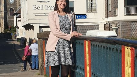 Ruth Jolley, prospective parliamentary candidate for the Brexit Party on South West Norfolk. Picture