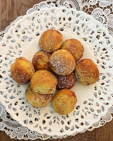 Kate's technical challenge: Aebleskiver (C) Kate Royall