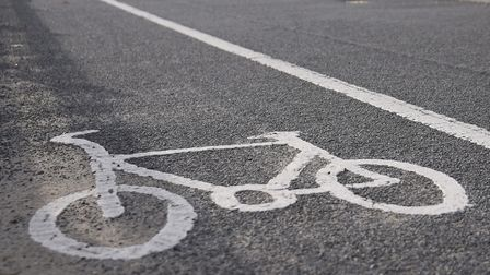 File picture of a cycle path. Picture: DENISE BRADLEY