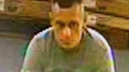 Police are looking for this man in relation to a theft at King's Lynn B&Q. Photo: Norfolk Police