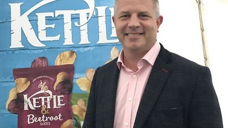 Ashley Hicks, managing director of Kettle Foods in NorwichPic: Archant