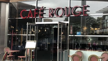 Cafe Rouge in Norwich's Chapelfield will close this month. Picture: Archant