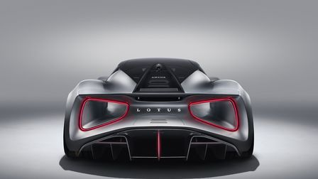 The Lotus Evija can do 0-180mph in less than 9 seconds. Picture: John Wycherley/Lotus