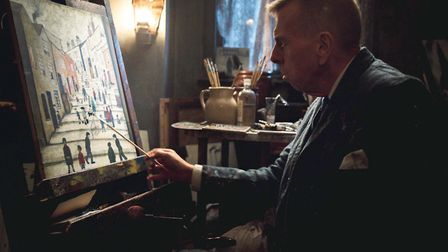 Timothy Spall plays Lowry in Mrs Lowry and Son Picture: Courtesy of Vertigo Releasing