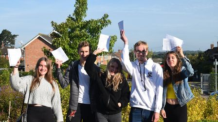 61pc of students at Bungay High School achieved a grade four or above in English and Maths. Photo: M