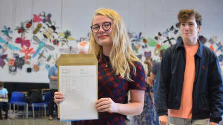 Phoebe Ellis was the top performing student, with nine grade 9s, two grade 8s, and a level 2 distinc