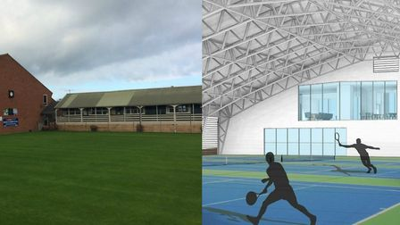 Plans for a new £3.3m tennis club in Cromer are up in the air with crunch talks set for this week. P