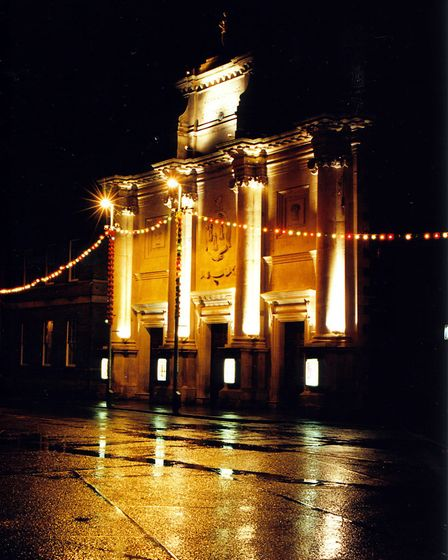 Pic for Guess the place competition for West edition EDP. King's Lynn Corn Exchange.