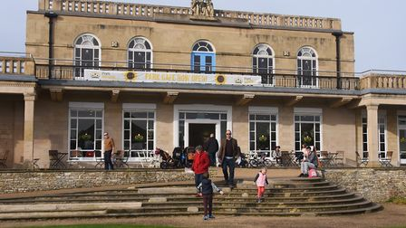 The café Park Britannia at Waterloo Park has been saved a day before it was due to shut. Picture: DE