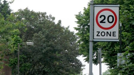File photo dated 05/06/2007 of a 20 miles per hour (mph) zone in East Dulwich, south London as Milli