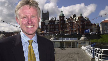 Norman Lamband the newly elected MP for North Norfolk on June 8, 2001. Photo: Archant