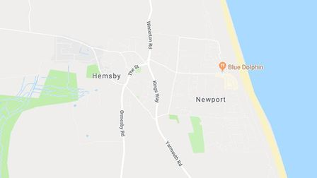 More than 5,000 homes in Hemsby, Burgh Castle and Caister were left without power on Friday afternoo