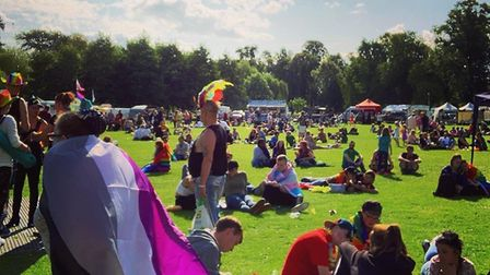 West Norfolk Pride included entertainment at Walks. Picture: King's Lynn and West Norfolk Pride