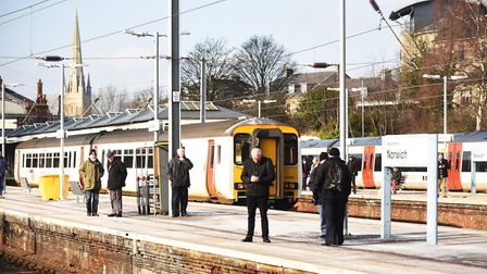 Train fares between Norwich and Ely will be capped. Picture: Ian Burt