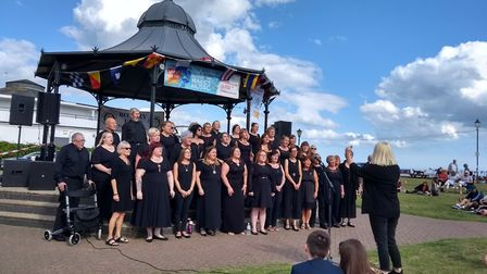 The Gorleston Makes Music final at the town's bandstand was reportedly disrupted by a function at th