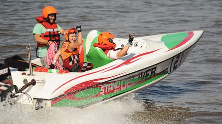 Action from the Hanseatic Ski Race in King's Lynn. Picture: Ian Burt