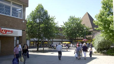 New Conduit Street, King's Lynn, that is due to be transformed when the plans for the town centre re