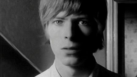 David Bowie in the 60s. Photo: Picasa
