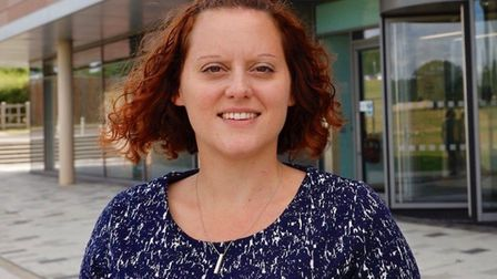 Hayley Mace, head of communications at the New Anglia LEP. Picture: Lesley van Dijk