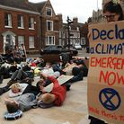 Scenes from the climate protest in King's Lynn Picture: Chris Bishop