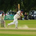 Norfolk professional Tom New led a brave rearguard action at Longton - but there was to be no happy