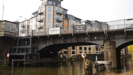 Carrow Bridge in Norwich, which is requiring repairs for the third time in just over a year Picture: