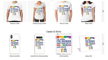 Norwich Pride have launched a line of merchandise inspired by a bus driver refusing to drive a rainb