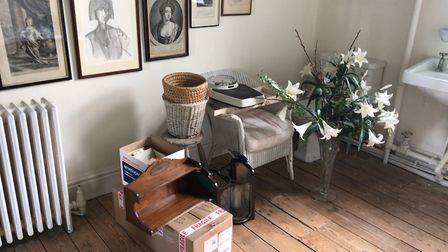 Baroness Patricia Rawlings is auctioning the contents of her Burnham Market home. Picture: Ella Wilk