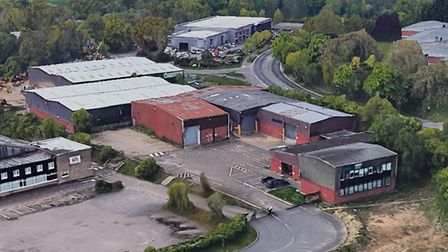 The Norfolk Training Services site on Norwich Livestock Market. Picture: Google
