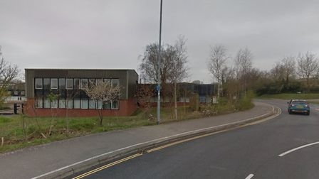 The former Norfolk Training Services buildings at Norwich Livestock Market are set to be demolished