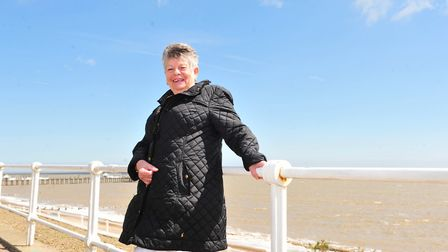 Sue Doy, who has been described as 'Mrs Southwold'. PHOTO: Nick Butcher