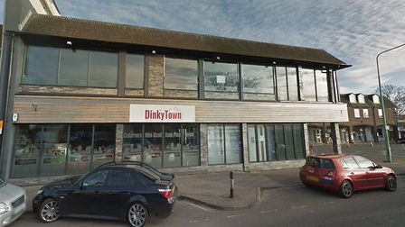 Dinky Town, on Bridge Road, sits next to the car park. Photo: Google Maps