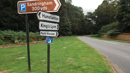 The crash happened close to the junction of the B1440 with The Avenue, at Sandringham Picture: Chri