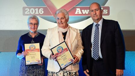 Broadland Community at Heart Awards 2016 at The Space. Volunteer of the year.