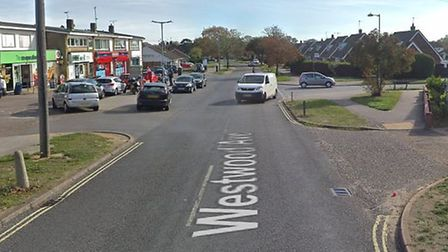 Multi-way traffic control signals willl be in operation on Westwood Avenue in Lowestoft as gas works
