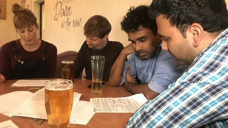 Puzzled Pint is growing in popularity and is held on the second Tuesday of every month at a differen