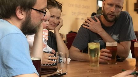 A relaxed, fun way to socialise and use your brain at the same time - the Puzzled Pint event which i
