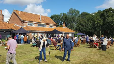 An open day at Brampton Willows near Beccles raised £4,000 for the East Anglian Air Ambulance. Pictu