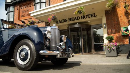 The Maid's Head Hotel have bought a 1950s mark VI drophead Bentley to make their guests stay even mo