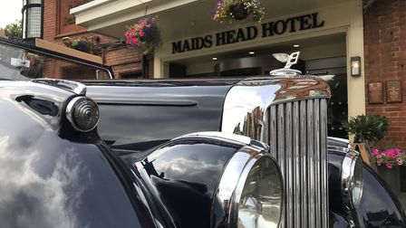 The Maid's Head Hotel have bought a1950s mark VI drophead Bentley to make their guests stay even mor