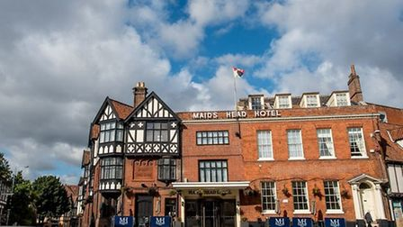 The Maids Head hotel, Norwich. Pic: Archant