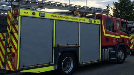 File picture of fire engines. Picture: SOPHIE WYLLIE