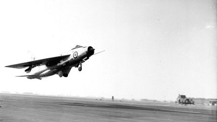 One of the 1,500mph jets takes to the sky Picture: Archant